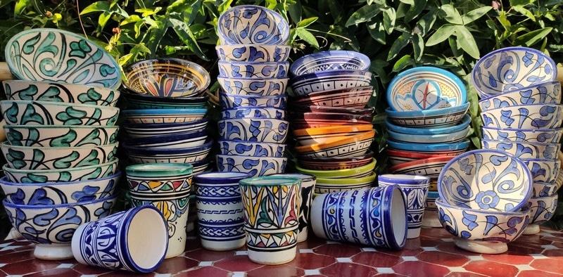 Cuenco de cerámica de regalo para pedidos a partir de 50€