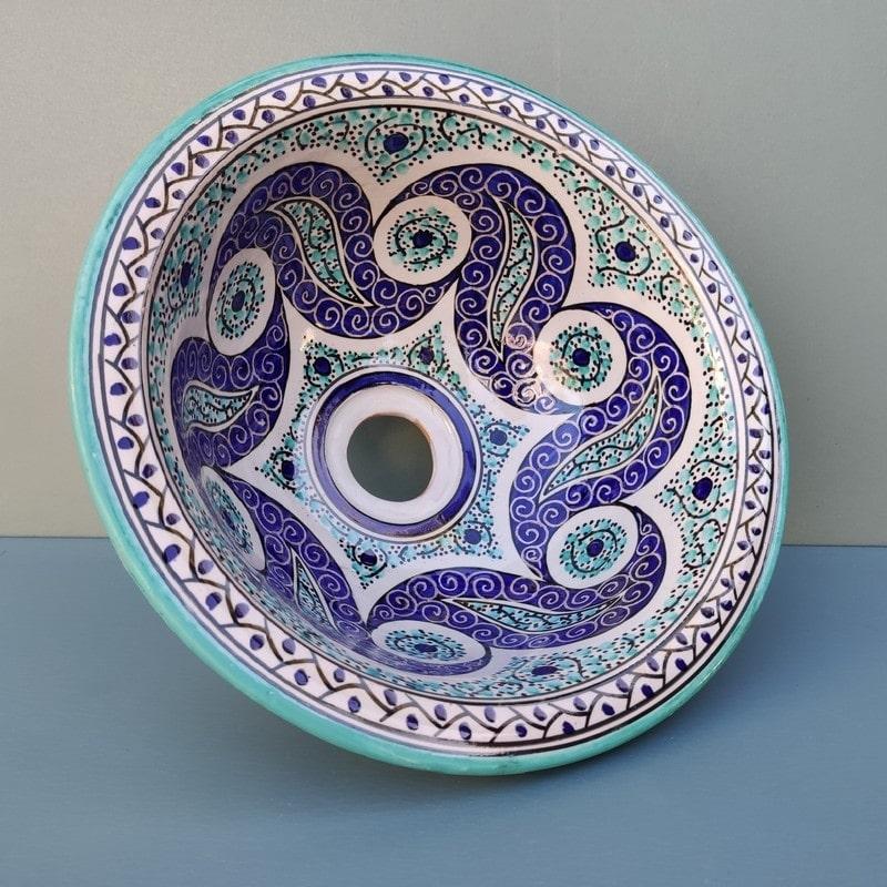 lavabo de cerámica rustico