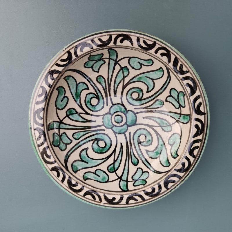 plato de cerámica árabe barata
