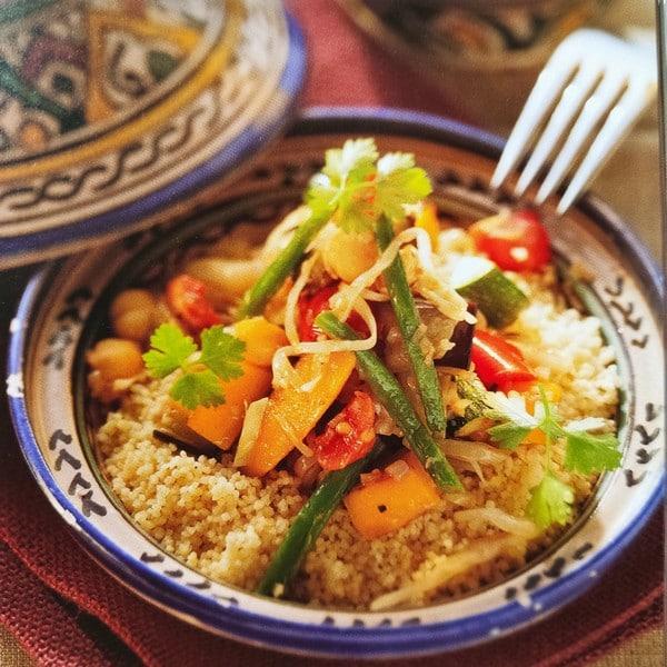 Cocina marroquí: cuscús