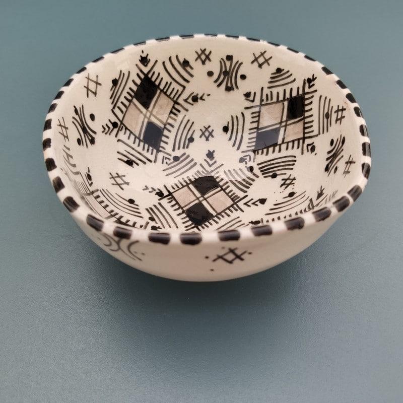 Cuenco de cerámica árabe Tuareg