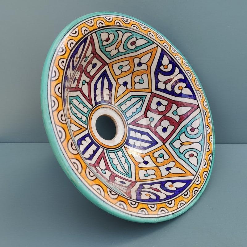 lavabo de cerámica hecho a mano