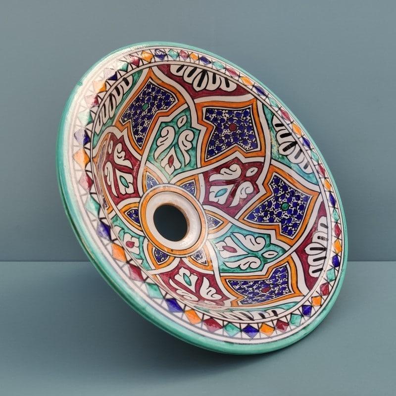 lavabo artesanal árabe