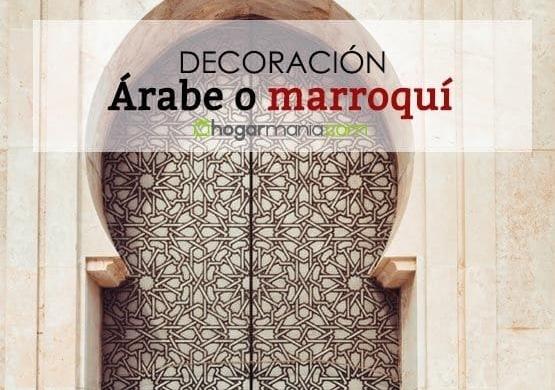 artesanía y decoración árabe