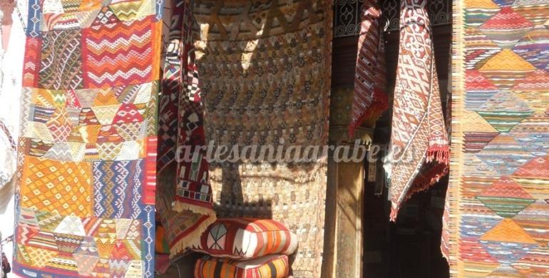 alfombra marroquí