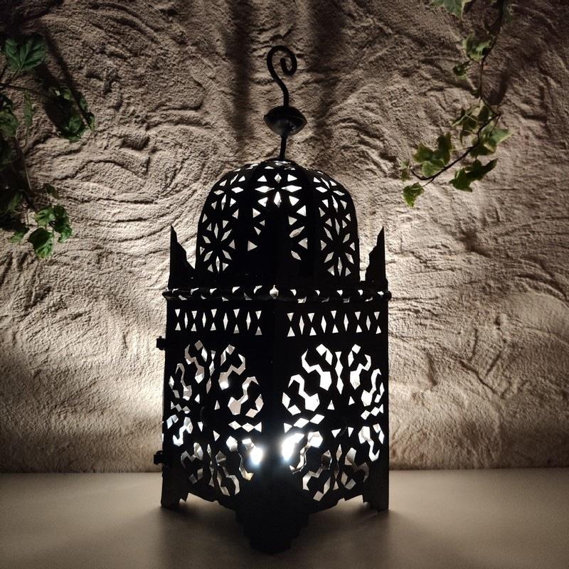 farol de forja marroquí