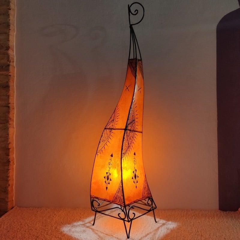 lámparas árabes de pie