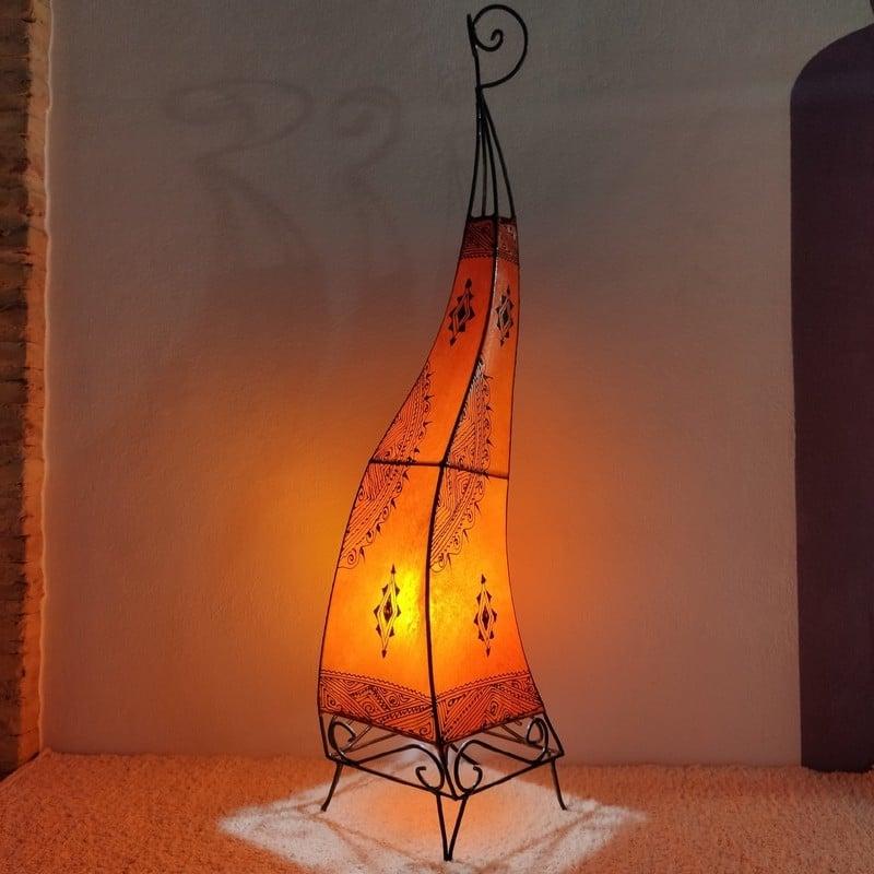 lámpara marroquí de pie