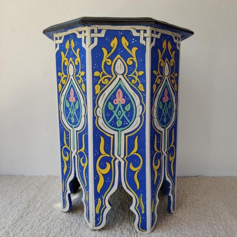 mesa marroquí de té