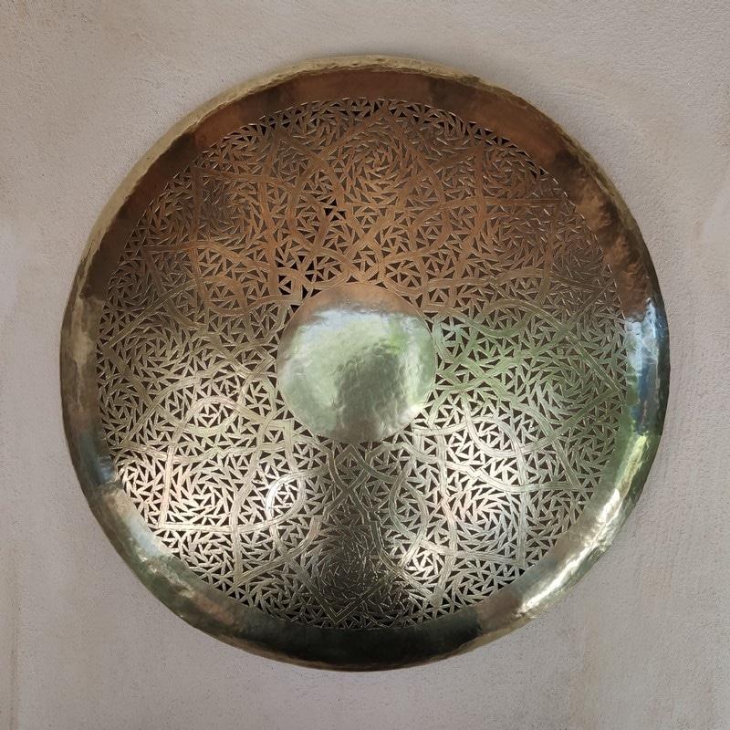 plafón árabe de cobre