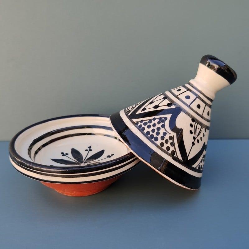 tajine de cerámica pintada