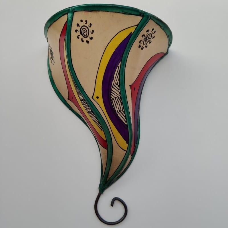lámpara árabe rústica