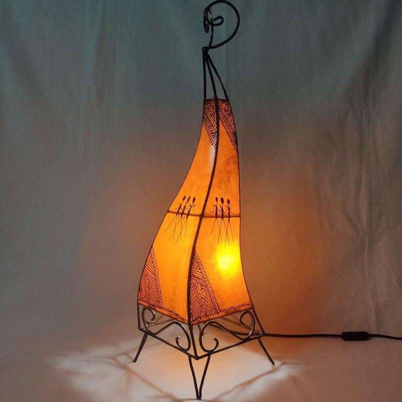 lámpara antigua marroquí
