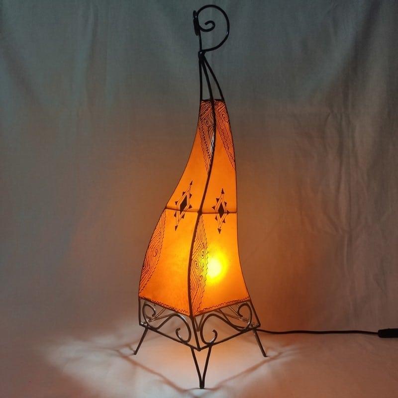 lámpara estilo marroquí para mesa