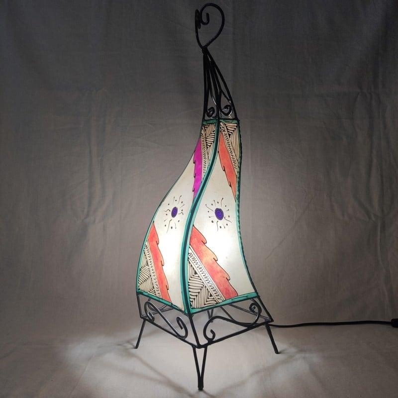 lámpara marroquí para decoración