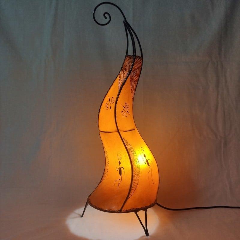 lámpara árabe de pie