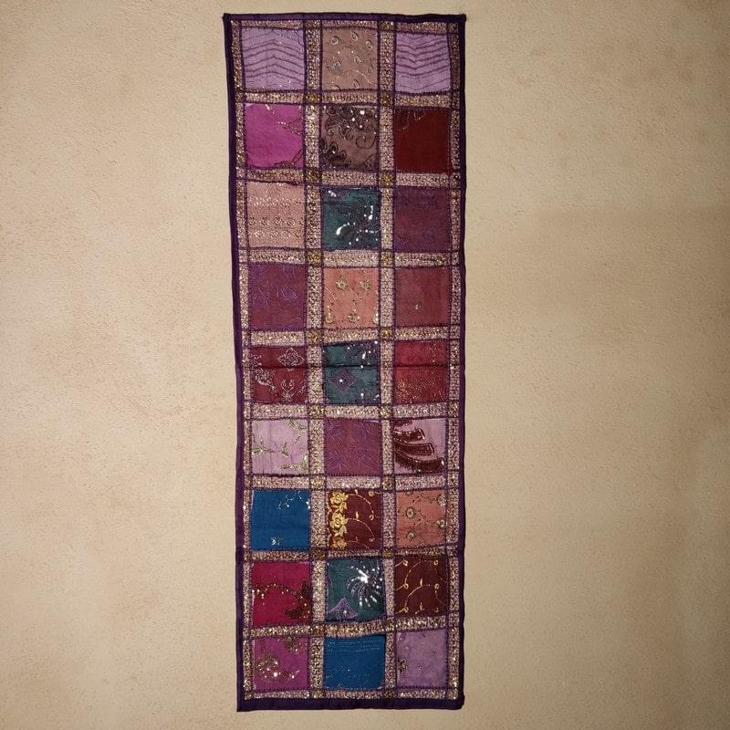tapiza india lila