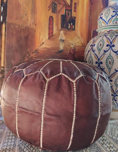 El puff marroquí