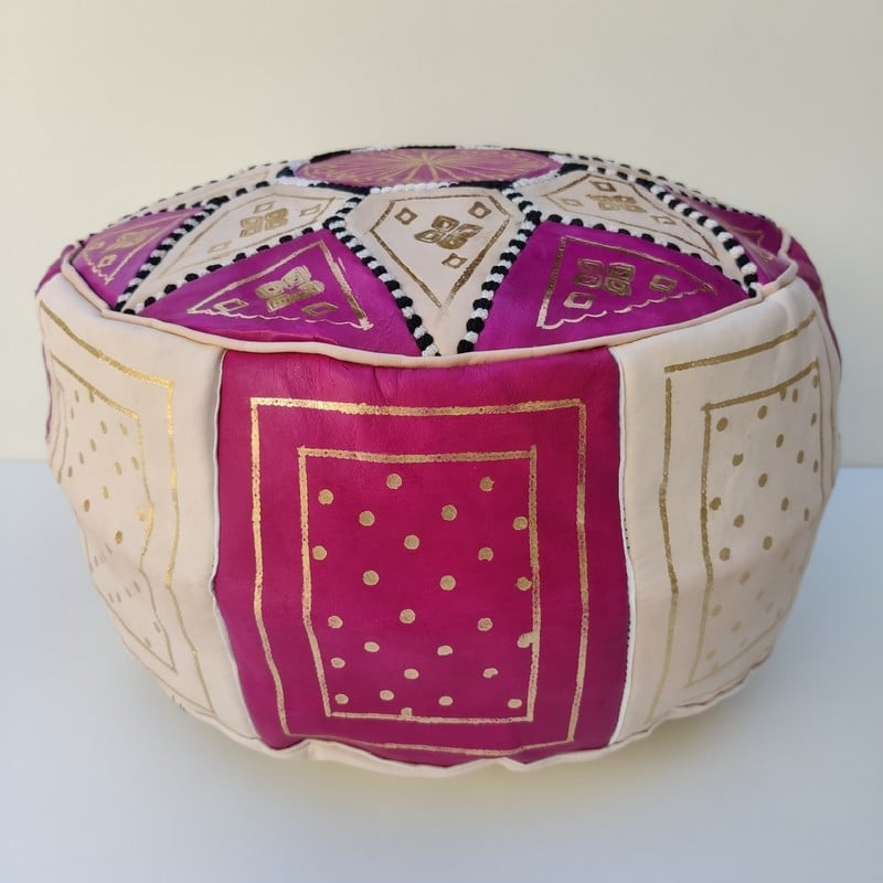 puff árabe de marruecos
