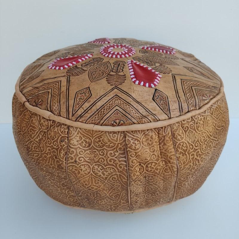 pouff marroquí