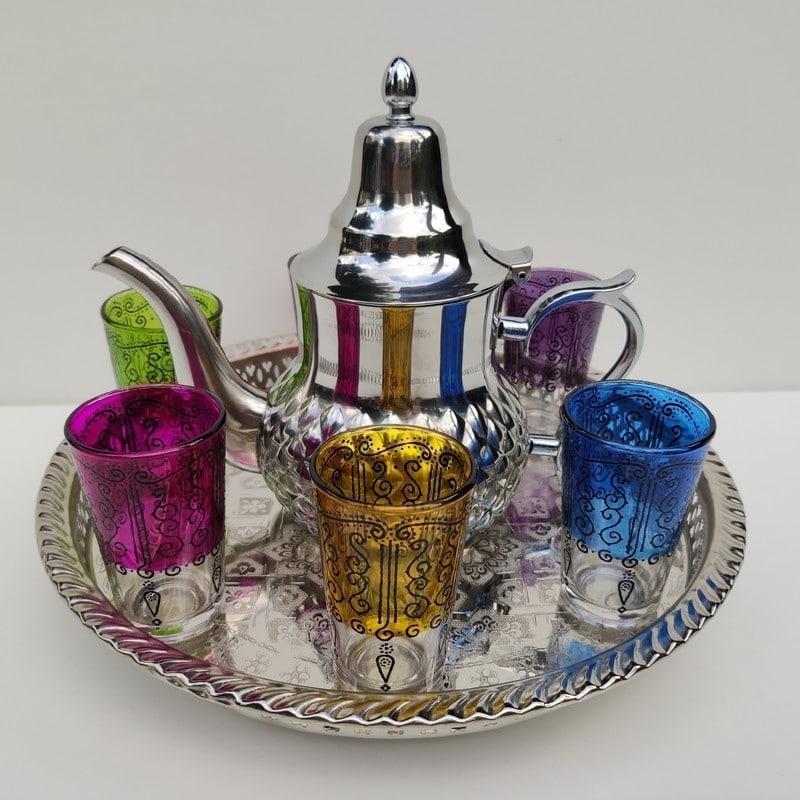 set de té marroquí completo