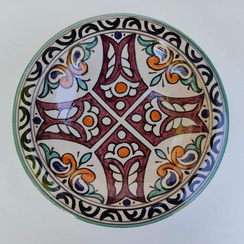 platos pintados para colgar